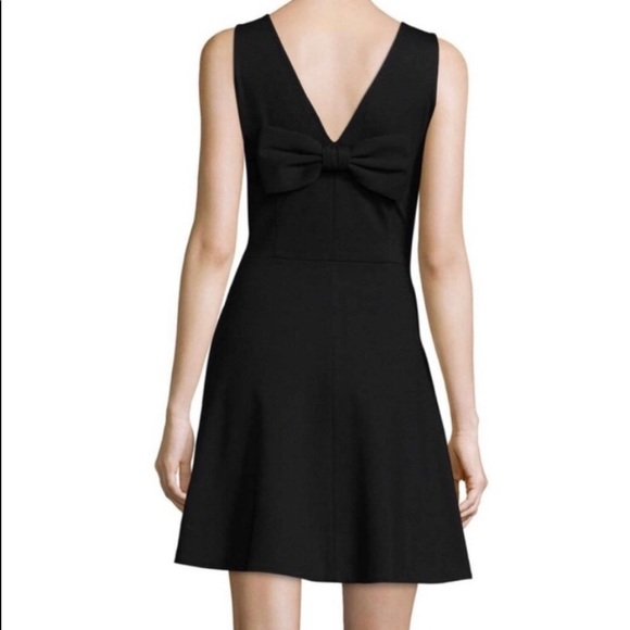 Kate Spade Fit and Flare Bow in Back CLASSIC Dress